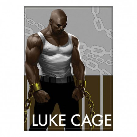Luke Cage Chains Magnet
