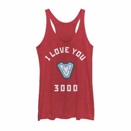 Marvel I Love You 3000 Iron Man Reactor Tank Top