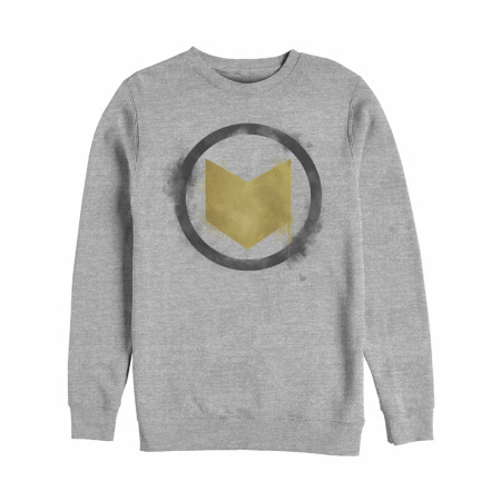 Hawkeye Painted Logo Crewneck Sweatshirt
