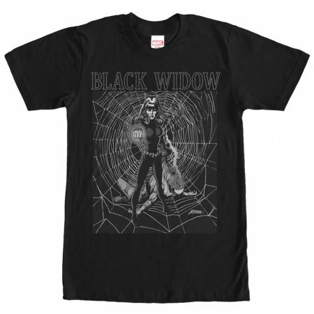 Black Widow Web T-Shirt