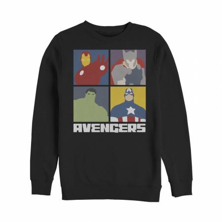 Marvel Avengers Assemble Color Block Sweatshirt