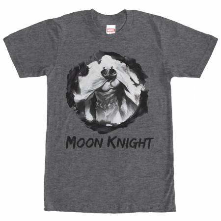Moon Knight Paint Smudge Grey T-Shirt