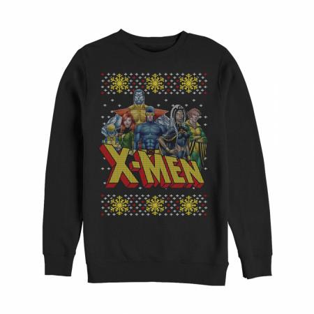 X-Men Ugly Christmas Sweater Design Sweatshirt