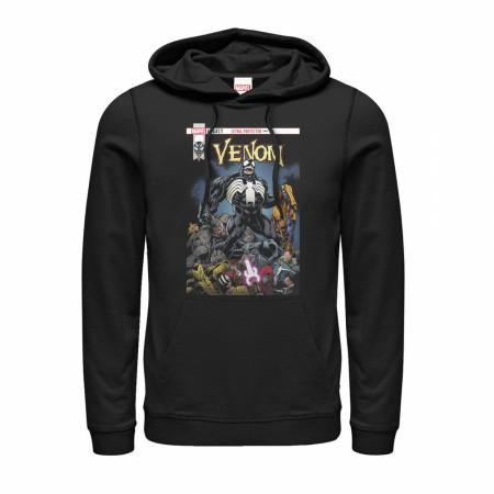 Venom Leather Protector Pile Hoodie