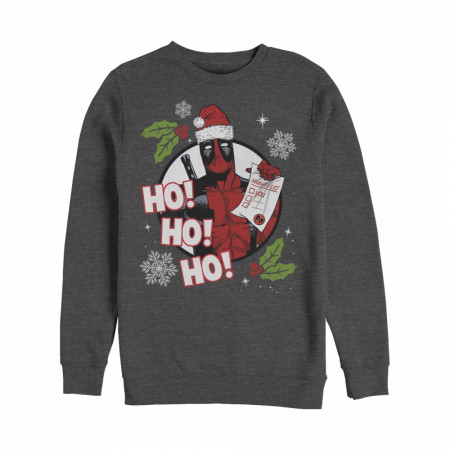 Deadpool Ho Ho Ho Christmas Sweatshirt
