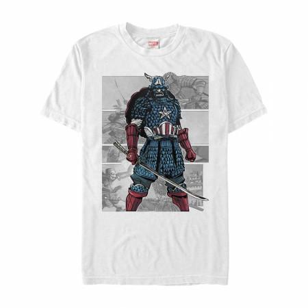 Captain America Samurai T-Shirt