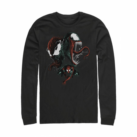 Spider-Man Venom and Carnage Bad Conscience Long Sleeve Shirt