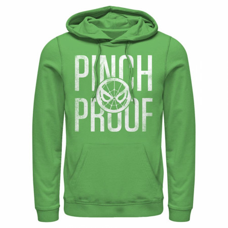 Spider-Man Pinch Proof Green Hoodie