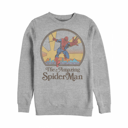Marvel Vintage Spider-Man Sun Sweatshirt