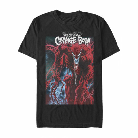 Carnage Web of Venom T-Shirt