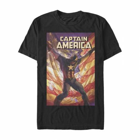 Captain America #4 Comic Cover T-Shirt