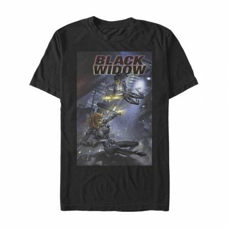 Black Widow #3 Comic Cover T-Shirt
