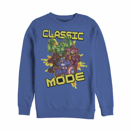 Marvel Pixelated Avengers Classic Mode Sweatshirt