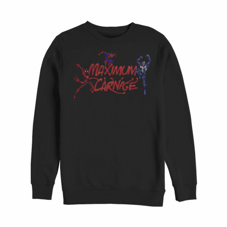 Marvel Maximum Carnage Trio Sweatshirt