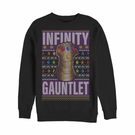 Thanos Ugly Christmas Gauntlet Sweatshirt
