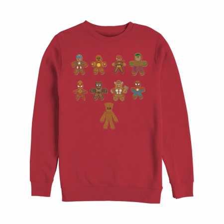 The Gingerbread Cookie Avengers Christmas Sweatshirt