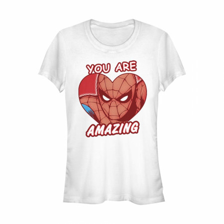 Spider-Man You Are Amazing Women's White T-Shirt
