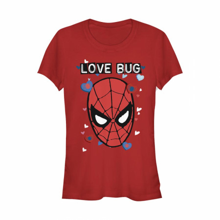 Spider-Man Love Bug Red T-Shirt