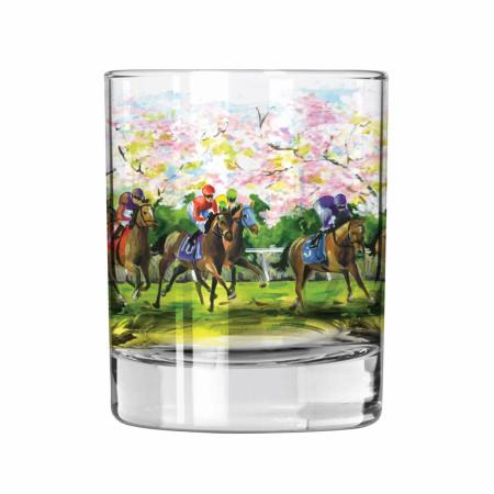 John Morris 'The Spirit of Racing' Rocks Glass