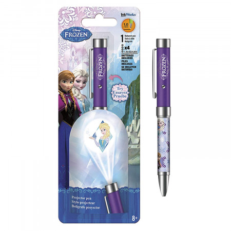 Frozen Elsa Disney Purple Projector Pen