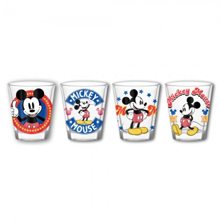 Mickey Mouse Shot Glass Set