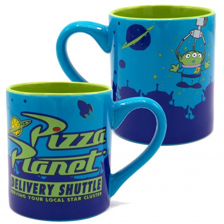 Toy Story Blue Pizza Planet Coffee Mug