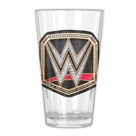 WWE Championship Belt Pint Glass