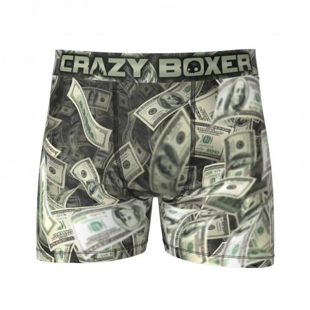 Crazy Boxer Cash Money Print Boxer Briefs