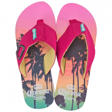 Corona Extra Women's Pink Sunset Sandals