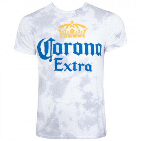 Corona Logo Faded Grey Men's T-Shirt