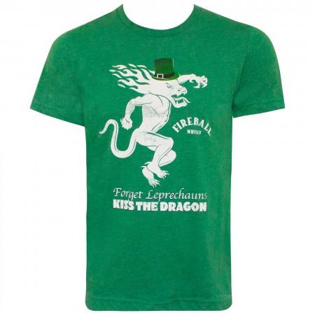 Fireball St. Patrick's Day Green Label Tee Shirt