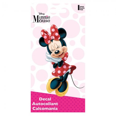 Minnie Mouse Cartoon Decal