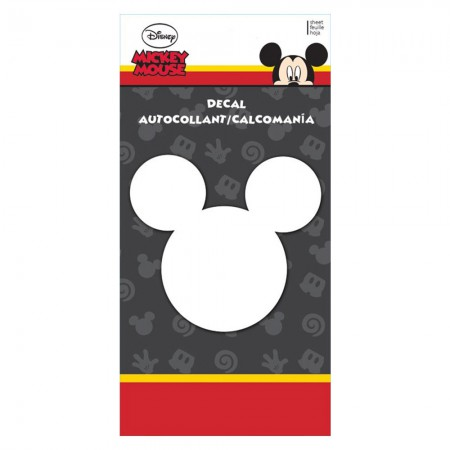 Mickey Mouse Cartoon Ears Decal