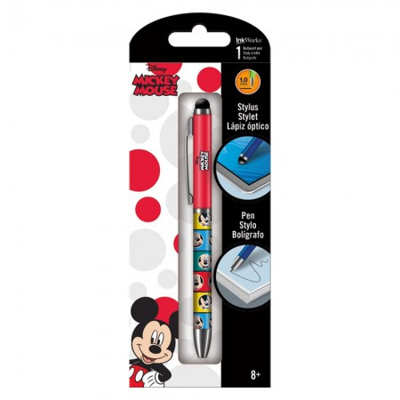 Mickey Mouse Pen And Stylus Combo