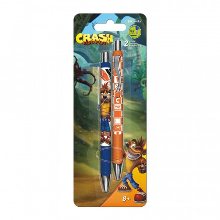 Crash Bandicoot 2-Pack Pens