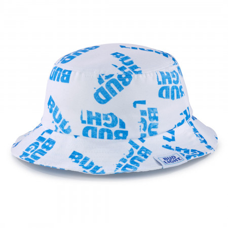 Bud Light Repeating Logo Bucket Hat