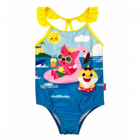 Baby Shark Toddler One Piece Swimsuit