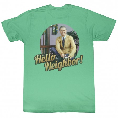 Mister Rogers Hello! T-Shirt