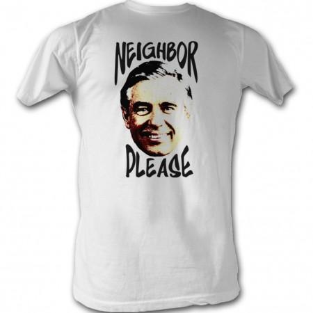 Mister Rogers Neighbor Please T-Shirt