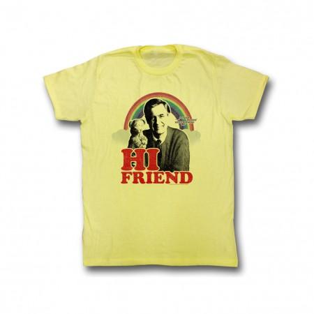Mister Rogers Hi Friend T-Shirt