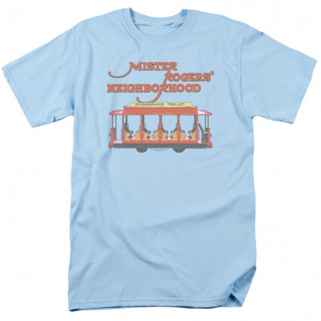 Mister Rogers Neighborhood Trolly Tshirt