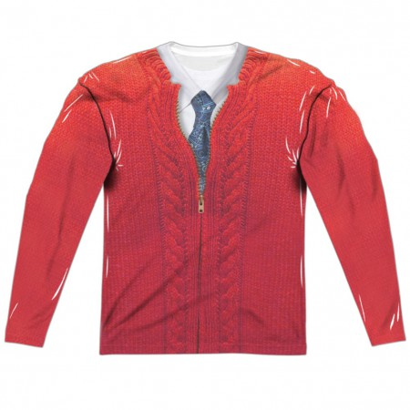 Mister Rogers Sweater Long Sleeve Costume Shirt