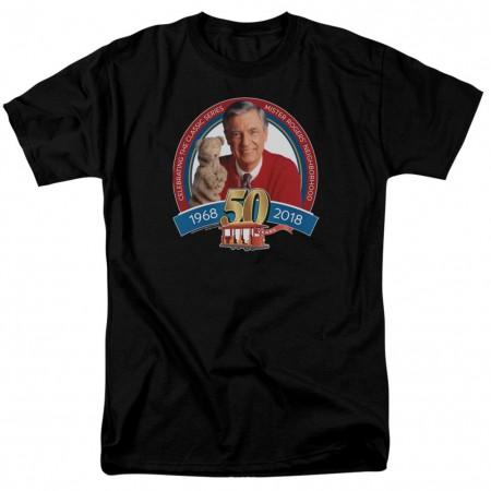 Mister Rogers Neighborhood 50 Years Tshirt