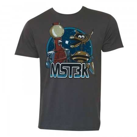 Mystery Science Theater 3000 Men's Gray Robots T-Shirt