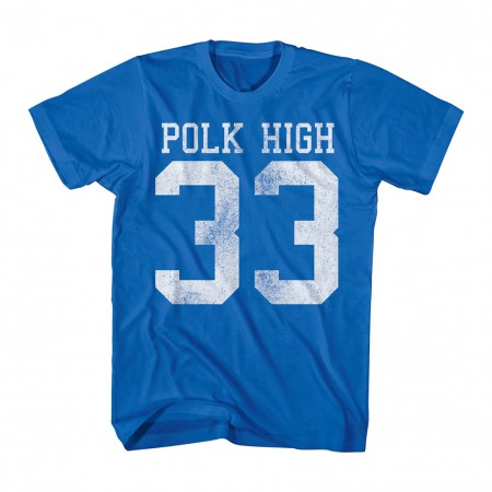 Married With Children Polk High Blue T-Shirt