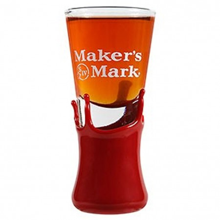 Maker's Mark Whiskey Shooter With Wax Seal