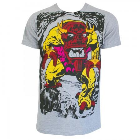 Marvel Comics Mangog Men's Grey T-Shirt
