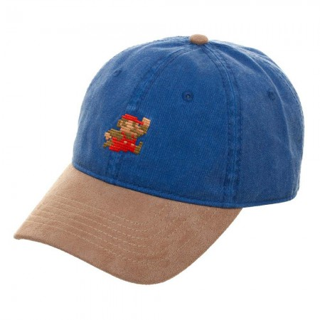 Super Mario Seude Bill Blue Hat