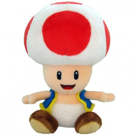Super Mario Bros. Toad 7 Inch Nintendo Plush Doll Toy