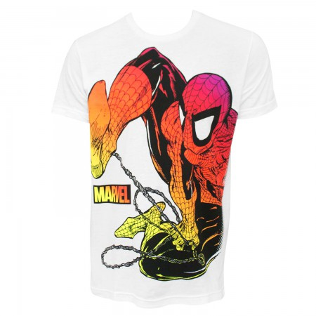 Spider-Man Chromatic Men's White T-Shirt